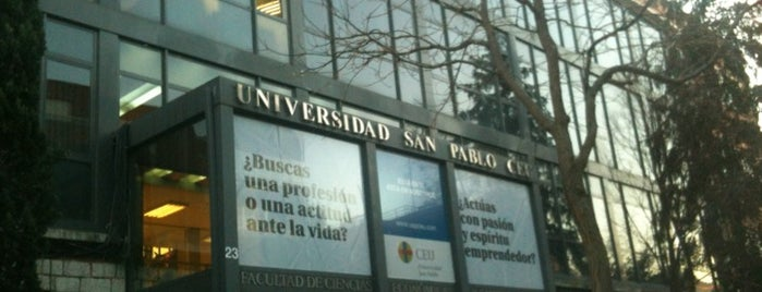Universidad CEU San Pablo is one of Madrid.