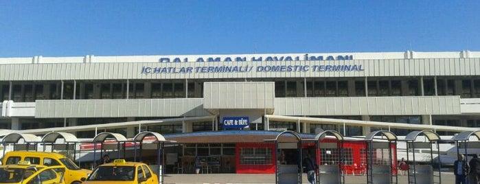 Dalaman Havalimanı (DLM) is one of Marmaris Yolu.