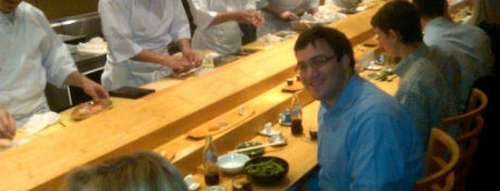 Sushi Yasuda is one of The Platt 101: NYC's Best Restaurants.