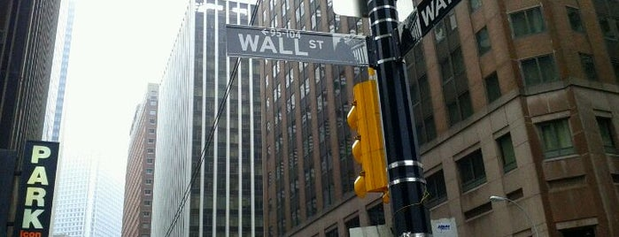 Wall Street is one of New York for the 1st time !.