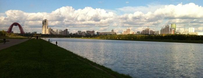 Гребной канал «Крылатское» is one of Лучшие парки Мск.