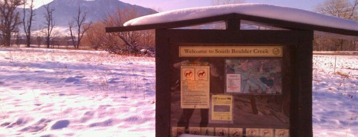 South Boulder Creek Trailhead is one of Boulder Area Trailheads #visitUS.
