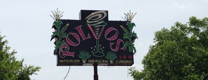 Polvos Mexican Restaurant is one of 26 Most Reviewed Austin Places on Fondu.