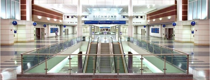 Richmond International Airport (RIC) is one of World Airports.