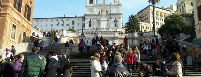 Spanish Steps is one of La Dolce Vita - Roma #4sqcities.