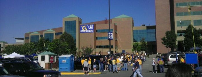 WVU Blue Lot is one of Football Game Day.