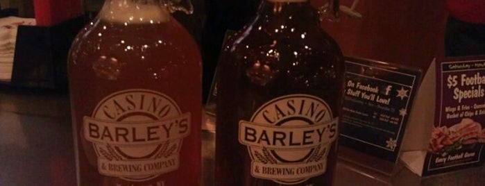 Barley's Casino & Brewing Company is one of Vegas Craft Beer.