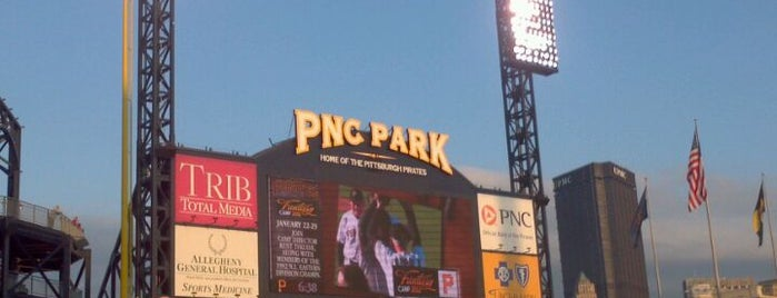 PNC Park is one of Ballparks Across Baseball.