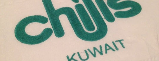 Chili's is one of Ahmed ahw.
