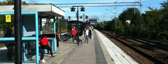 Ulriksdal (J) is one of SE - Sthlm - Pendeltåg.