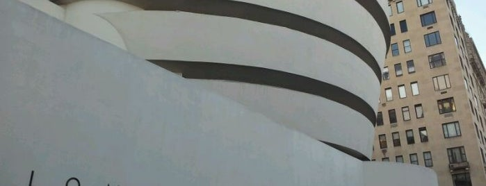 Solomon R Guggenheim Museum is one of Crazy Nights at NYC Museums.