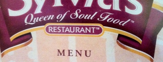 Sylvia's Restaurant is one of New York for the 1st time !.