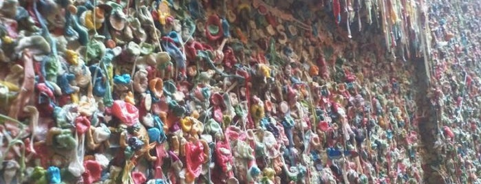 Gum Wall is one of Must-have Experiences in Seattle.