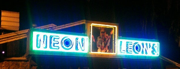 Neon Leon's Zydeco Steakhouse is one of Places to eat.