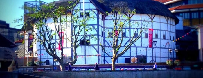 Shakespeare's Globe Theatre is one of Hand Drawn Map of London.