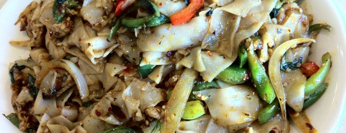 Thai Variety is one of Pad Kee Mao in the IE - Who Does It Best.