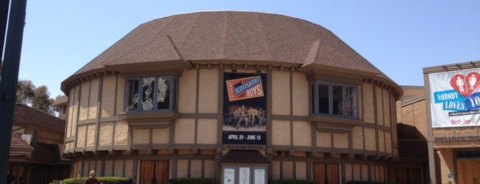 The Old Globe Theatre is one of San Diego's 59-Mile Scenic Drive.