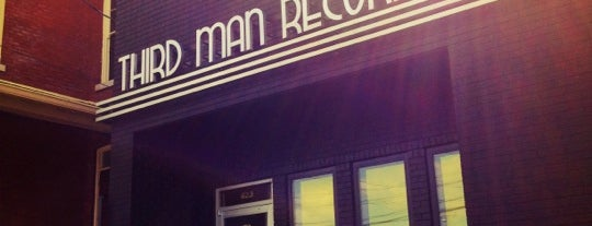 Third Man Records is one of My Nashville Favorites.