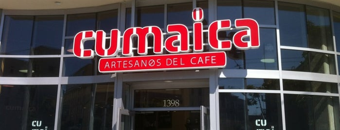 Cumaica Coffee is one of Free Wifi & Power in San Francisco.