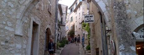 Saint-Paul-de-Vence is one of Bucket List Places.