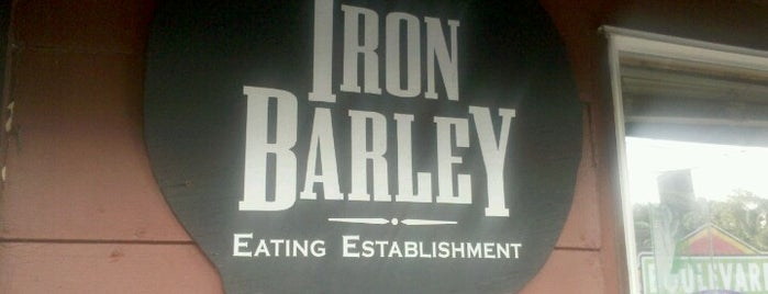 Iron Barley is one of The best things we ate in 2012.