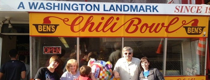 Ben's Chili Bowl is one of FOOD!.