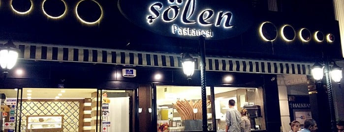 Şölen Pastanesi is one of places.