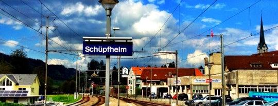 Bahnhof Schüpfheim is one of Bahnhöfe.