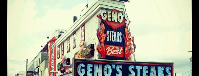 Geno's Steaks is one of Cheese Steak World Tour.