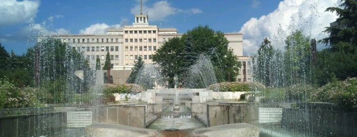 Spievajúca fontána / Singing Fountain is one of Prešov - The Best Venues #4sqCities.