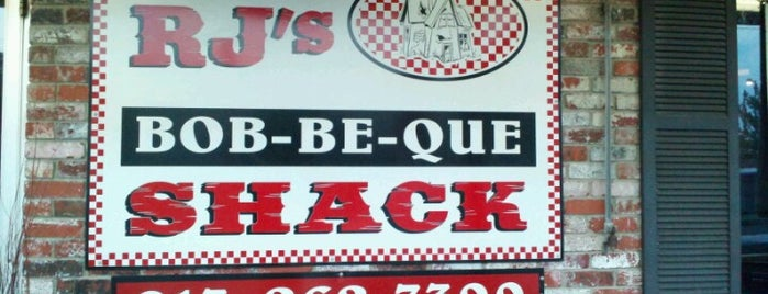 R.J.'s Bob-Be-Que Shack is one of Diners, Drive-Ins, and Dives- Part 2.