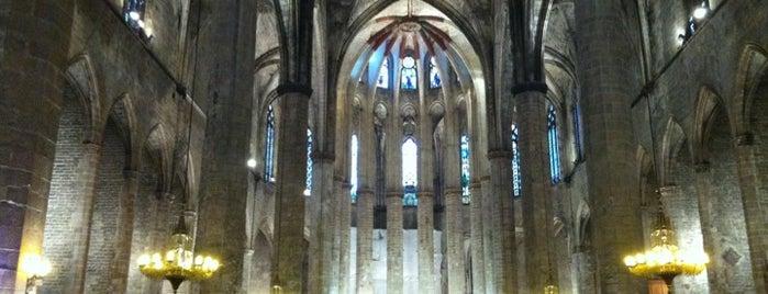 Basílica de Santa Maria del Mar is one of Barcelona.