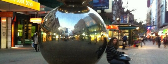 Rundle Mall is one of Adelaide.