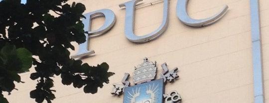 PUC-Rio - Pontifícia Universidade Católica do Rio de Janeiro is one of PUC.