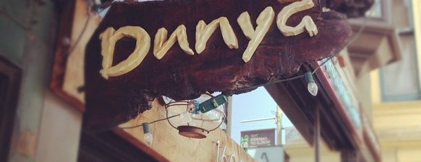 Dunya is one of SF Dining.