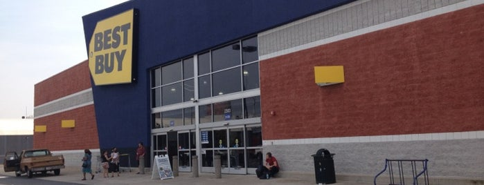 Best Buy is one of Frequent Places.