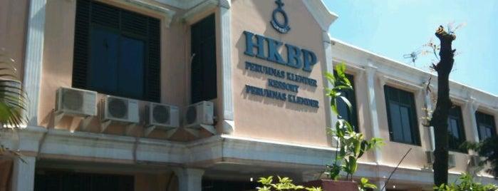 Gereja HKBP Perumnas Klender is one of Distrik 28.