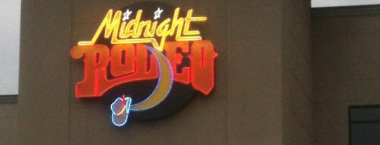 Midnight Rodeo is one of Increase your Tulsa City iQ.