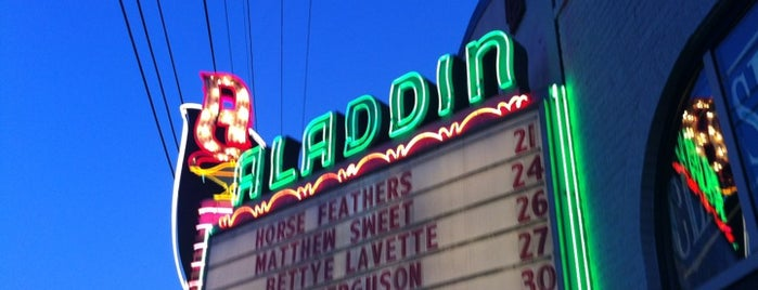 Aladdin Theater is one of The 15 Best Rock Clubs in Portland.