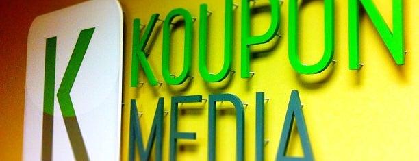 Koupon Media aka kou.pn is one of Startups, Accelerators and Incubators.