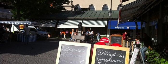 Viktualienmarkt is one of Munich And More.