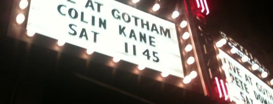 Gotham Comedy Club is one of Places to Lip Sync For Your Life!.