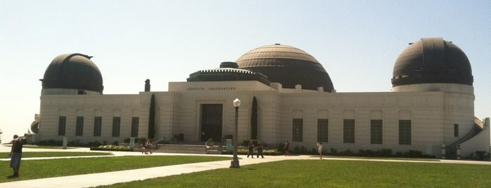 Griffith Observatory is one of The Great Outdoors in Los Angeles.