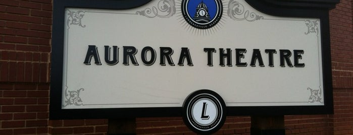 Aurora Theatre is one of places.