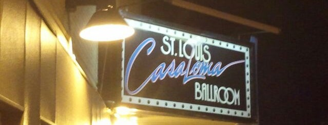 Casa Loma Ballroom is one of The 13 Best Nightclubs in St Louis.