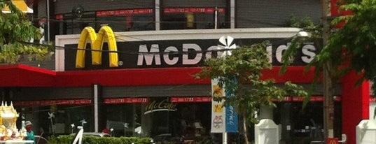 McDonald's & McCafé is one of McDonald drive thru.