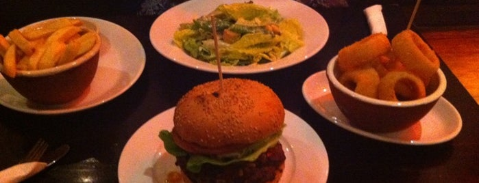 Gourmet Burger Kitchen is one of Guide To London's Best Spot's.