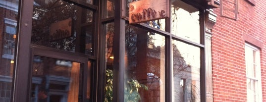 Mojo Coffee is one of GW/NY Cafe Spots.