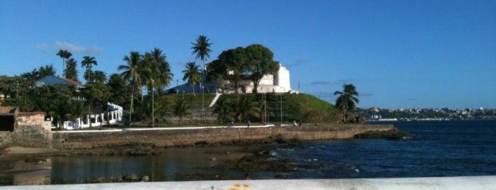 Forte de Monte Serrat is one of Points de Salvador.