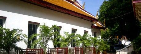 Wat Mahathat Yuwarajarangsarit Rajaworamahavihara is one of Visit: FindYourWayInBangkok.